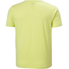 Helly Hansen HH Logo Camiseta Hombre, sunny lime